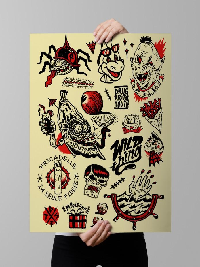 flash tattoo edustries